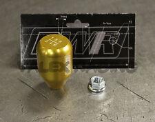 Blackworks Racing 10x1.5 Aluminum 6061 5 Speed Type R Style Shift Knob Gold