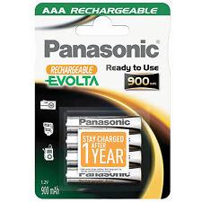 4x AKKUS AAA PANASONIC P-03 /LR03 * EVOLTA * 900 mAh 1,2 V - MICRO