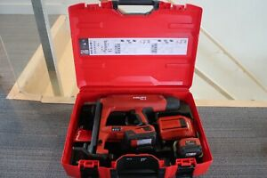 Hilti BX 3-ME 02 Cordless Nailer w/2 batteries & charger