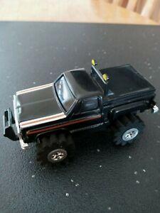 1980 Schaper Stomper Chevy Scottsdale Truck Black Lights & Runs GREAT NO DAMAGE