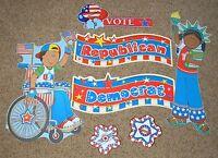 Teacher Resource:  Election Bulletin Board Set