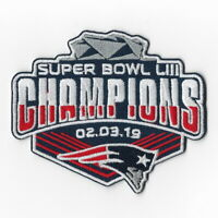Super Bowl 53 LIII Champions New England Patriots Iron on Patches A Patch FN
