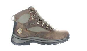 Timberland Mens Chocorua Brown/Green Hiking Boots Size 11 (1972483)