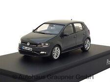 VW Polo 6R GP Facelift 1:43 Uranogrey 2014 Volkswagen Modellauto Grau