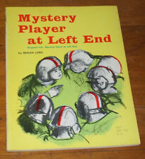 MYSTERY PLAYER AT LEFT END, Beman Lord, Scholastic PB 1ST PRT 1965