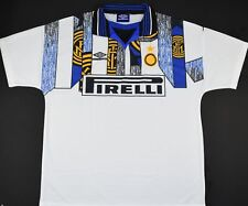 1995-1996 INTER MILAN UMBRO THIRD FOOTBALL SHIRT (SIZE L)