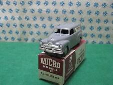 "Vintage Micro Models - HOLDEN FJ Van "" Bakers "" WA-1 Plástico - MIB"