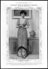 1910 Antique Print - PORTRAITS Irene Vanbrugh Grace Insole Frank Haviland (368)
