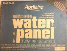 2 PACK Aprilaire #35 Humidifier Water Panel fits  #'s 700, 700A, 700M, 760 & 768