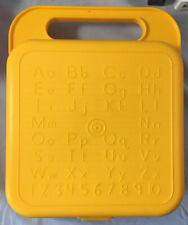 Tupperware Vintage Kids Yellow School Box #1408