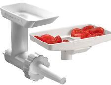 KitchenAid KSMGBC Food/Meat Grinder Attachment+Sausage Stuffer Kit+Food Tray NIB