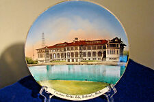 "SOUVENIR CHINA HAND PAINTED DISH,  ""CASTINA BELLE ISLE"",  DETROIT, MICHIGAN"
