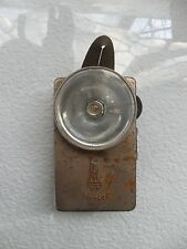 Vintage USSR Metal Flashlight Lantern VITEBSK Old Soviet Item