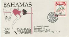 BAHAMAS 1992 FIRST DAY COVER SUMMER OLYMPICS BARCELONA