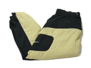 Nike Sportswear NSW Pants Gold Black Re-Issue Woven Track Joggers Men M BV5215