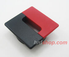 Black & Red Square w/Dia 60mm DESK CABLE TIDY OUTLET ROUND CIRCLE GROMMET INSERT
