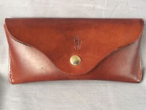 Vintage Ralph Lauren Sunglass Leather Case - made in England