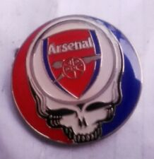 Arsenal - Grateful Dead - Stealie - Arsenal Football Club - Hat Pin