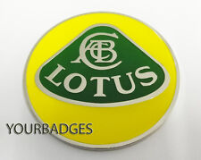 Enamel Chrome LOTUS NOSE BADGE Elise Exige 7