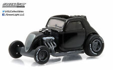 GREENLIGHT TOPO FUEL ALTERED DRAGSTER 1/64 BLACK BANDIT SERIES 14  27840-F