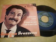 EP GEORGES BRASSENS LA MAUVAISE HERBE - LE MAUVAIS SUJET REPENTI +2  432205BE