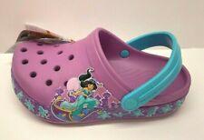 Crocs Disney Jasmine Princess Size J 1 Clogs New Girls Shoes