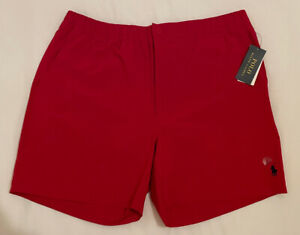 Men's Polo Ralph Lauren Red Shorts/Swim Shorts X-Large Brand New with Tags