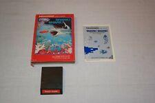 Intellivision Shark! Shark! game - Boxed w/ instructions .