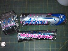 6Ee52 3 Pieces Of Padding Off Mongoose Bike, Good Condition