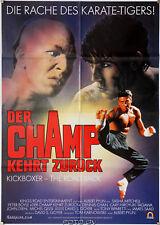 Orig.-Filmplakat Champ kehrt zurück - Kickboxer 2: The Road Back Dennis Chan