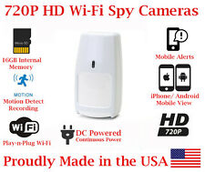 SecureGuard 720p HD WiFi Wireless IP Motion PIR Sensor Detector Nanny Spy Camera