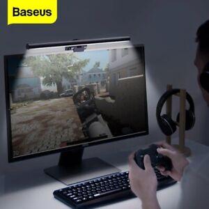 Baseus LED Desk Lamp Dimmable Office Computer Screenbar Eye-caring Table Lamp