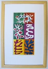 Matisse THE PANEL WITH MASK 1947 Framed Print