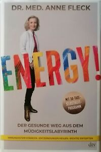 Energy Dr. Med. Anne Fleck   Gebundene Ausgabe Gebraucht 1A