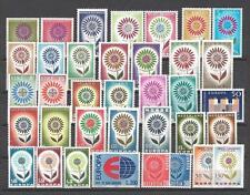 EUROPA 1964 année complète 36 timbres neuf ** 1er choix