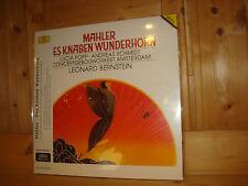 SEALED Mahler Des Knaben Wunderhorn BERNSTEIN Audiophile DGG LP 427302-1 NEW