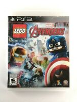 LEGO Marvel's Avengers (Sony PlayStation 3, 2016) VG Condition, CIB, *TESTED*