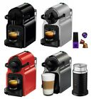 Nespresso Inissia Espresso Maker Brewer w/ Optional 16 Capsules Aeroccino 3
