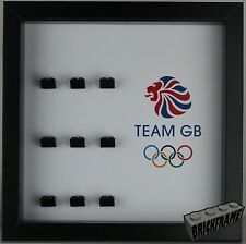 Display Frames or case (TWO DESIGNS) for LEGO Olympics Minifigures