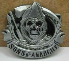 SONS OF ANARCHY PEWTER FINISH BELT BUCKLE - Aussie Seller!!