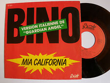 "BINO : Mia California / Solera (""Guardian Angel"") SP 1984 French BERNETT SB 1819"