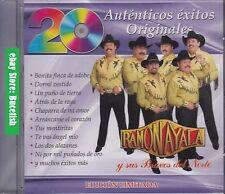 Ramon Ayala y sus Bravos del Norte 20 Autenticos Exitos Originales New Nuevo CD