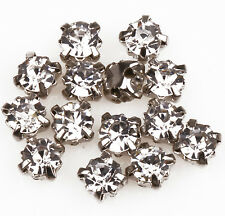 200pcs Rhinestone Crystal Gemstone Spacer Beads Jewelry Making Crafts 4mm