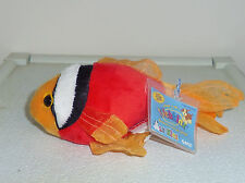 Tomato Clown Fish Lil Kinz small 8.5in Webkinz pet with unused sealed tag HS516