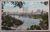 1925 Postcard: Great Flour Mills, Minneapolis, MN Minn