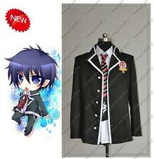 Ao no Blue Exorcist Rin Okumura Cosplay Jacket And Tie Clothings Custom Made New