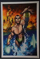 Submariner Michael Turner Aspen Art Print