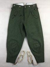 WW2 German Mountain Troops M36 Field Grey Wool Pants T2 TOP WOOL