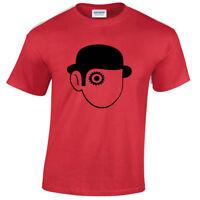 Arancia Meccanica Uomo T Shirt Retrò Film Culto Classico