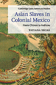 NEW BOOK Asian Slaves in Colonial Mexico by Tatiana Seijas (2015)